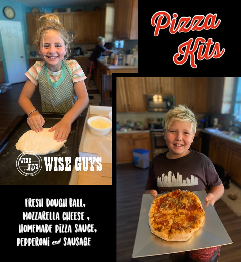 Pizza Kit Fundraiser by Wise Guys Pizzeria - Grapevine and Roanoke